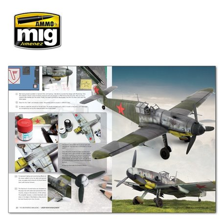Ammo by Mig Jimenez A.MIG-4523 The Weathering Magazine 24 Under New Management ENG