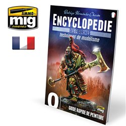 Ammo by Mig Jimenez A.MIG-6240 Encyclopedia Of Figures Modelling Vol.0 French