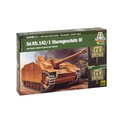ITALERI 15756 1/56 Sd.Kfz.142/1 STURMGESCHUTZ III