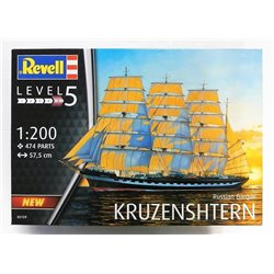 Revell 05159 1/200 Russian Barque Kruzenshtern