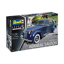 Revell 07042 1/24 Luxury Class Car Admiral Saloon