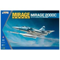 Kinetic K48042 1/48 Mirage 2000C Multi-role Combat Fighter