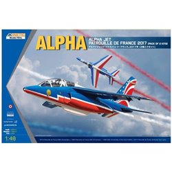 Kinetic K48064 1/48 Alpha Jet Patrouille de France 2017 pack of 2 kits