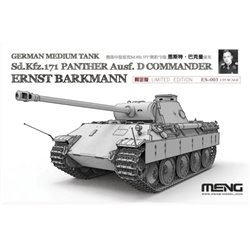 Meng ES-003 1/35 German Medium Tank Sd.Kfz.171 Panther Ausf. Ernst Barkmann*