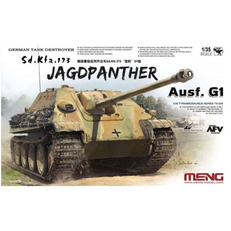 Meng TS-039 1/35 German Tank Destroyer Sd.Kfz.173 Jagdpanther Ausf.G1