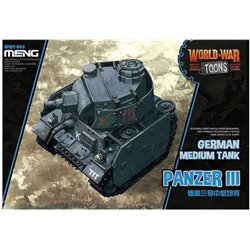 Meng WWT-005 Egg World War Toons Panzer III German Medium Tank