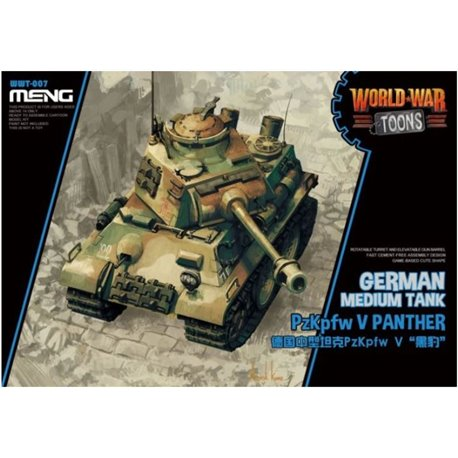 Meng WWT-007 Egg World War Toons PzKpfw V Panther German Medium Tank
