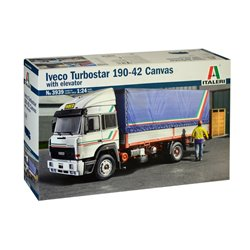 ITALERI 3939 1/24 Iveco Turbostar 190-42 Canvas with elevator