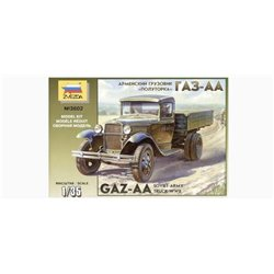 ZVEZDA 3602 1/35 GAZ-AA Soviet Army Truck