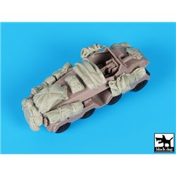 Black Dog T72113 1/72 Sd. Kfz. 233 Stummel Accessories Set