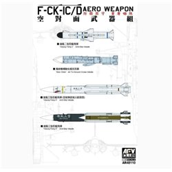 AFV Club AR48110 1/48 F-CK-1C/D Aero Weapon