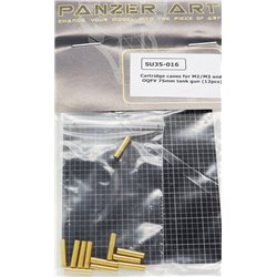 PANZER ART SU35-016 1/35 Cartridge cases for M2/M3 and OQFV 75mm tank gun