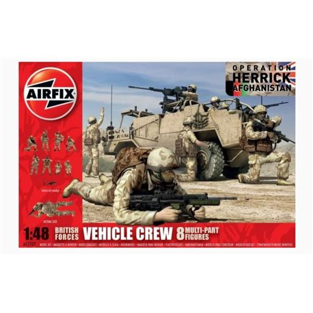 AIRFIX A03702 1/48 British Forces Vehicle Crew Operation Herrick Afghanistan