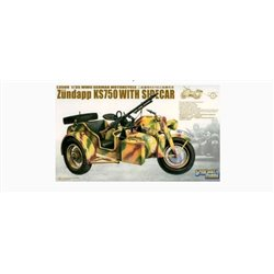 Great Wall Hobby L3508 1/35 Zündapp KS750 with Sidecar