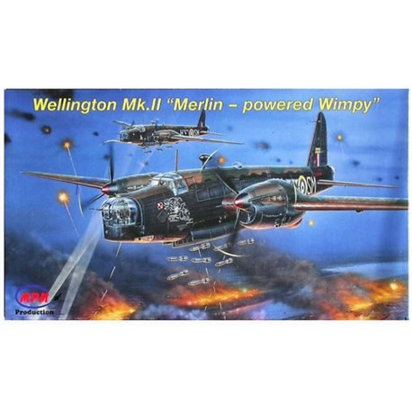 "MPM 72535 1/72 Vickers Wellington Mk.II ""Merlin-powered Wimpy"""
