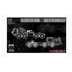 Modelcollect MA72009 1/72 USA M983A2 HEMTT Tractor and Soviet MAZ 7410 Tractor 2 kits