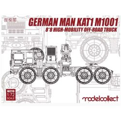 Modelcollect UA72119 1/72 German MAN KAT1 M1001 8*8 High-Mobility Off-Road Truck