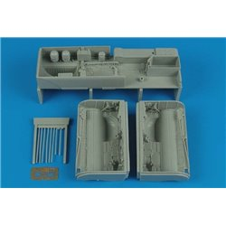 AIRES 2153 1/32 Su-25K Frogfoot A wheel bay Trumpeter