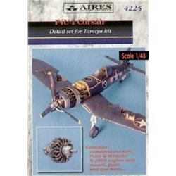 AIRES 4225 1/48 F4U-1 Corsair detail set Tamiya