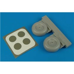 AIRES 4504 1/48 Ar 196A wheels & paint masks