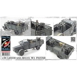 Ding-Hao Hobby DH96003 1/35 L4500S with MG151 With 1 Figure
