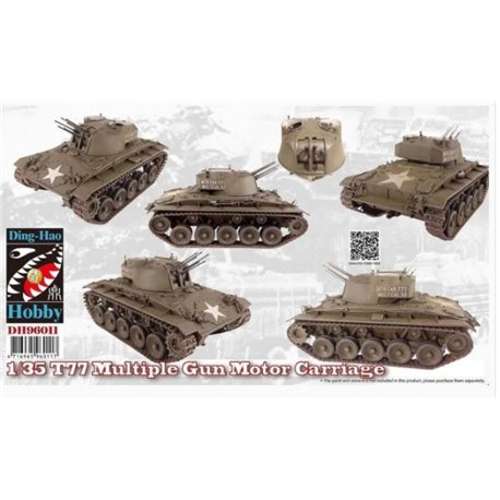 Ding-Hao Hobby DH96011 1/35 T77 Multiple Gun Motor Carriage