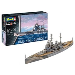 Revell 05161 1/1200 HMS King George V