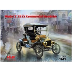 ICM 24016 1/24 American Model T 1912 Commercial Roadster Car