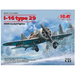 ICM 32003 1/32 I-16 type 29 WWII Soviet Fighter