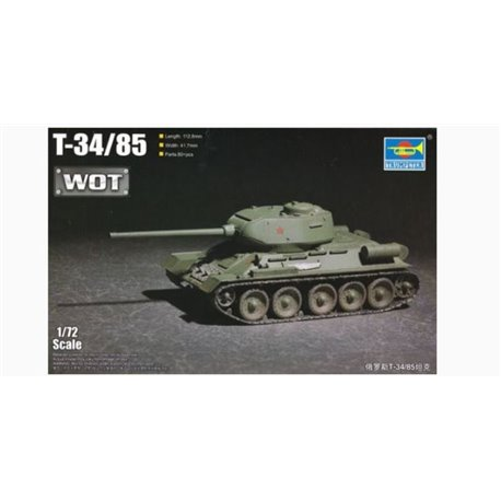 Trumpeter 07167 1/72 Russian T-34/85 – WoT