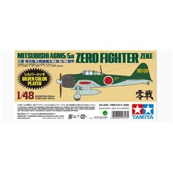Tamiya 10317 1/48 Mitsubishi A6M5/5a Zero Fighter (Zeke) Silver Color Plated