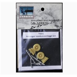 AIRES 7001 1/72 Avenger Undercarriage Set