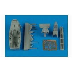 AIRES 7260 1/72 F-22A Raptor cockpit set for Fujimi
