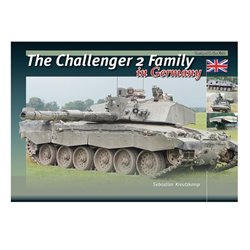 TrackPad Publishing ITF001 The Challenger 2 Family in Germany Livre en Anglais