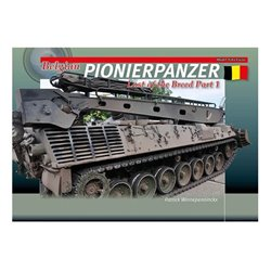 TrackPad Publishing MF11 Belgian Pionierpanzer - Last of the Breed Part 1 Livre en Anglais