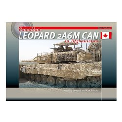 TrackPad Publishing MFF001 Canadian Leopard 2A6M CAN in Afghanistan Livre en Anglais