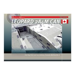 TRACKPAD PUBLISHING MFF002 Canadian Leopard 2A4M CAN Livre en Anglais