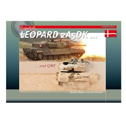 TrackPad Publishing MFF06 Danish Leopard 2A5DK and QRF Livre en Anglais