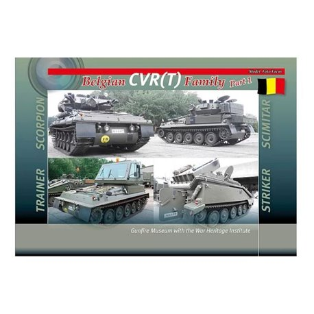 TrackPad Publishing MFF009 Belgian CVR(T) Family Part 1 Livre en Anglais
