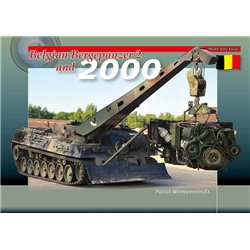 TrackPad Publishing MFF07 Belgian Bergepanzer 2 and 2000 Livre en Anglais