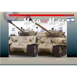 TrackPad Publishing MFF08 IDF Shermans M-50 and M-51 Livre en Anglais