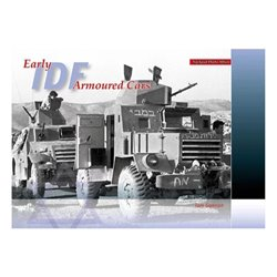 TrackPad Publishing PA002 IDF Early Armoured Cars Livre en Anglais