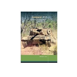 TrackPad Publishing TP003PB Leopard AS1 in Australian Service Paperback English Book