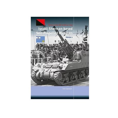 TrackPad Publishing TP006-1 Israeli Sherman-Based SP Weapons Volume 1 Livre en Anglais