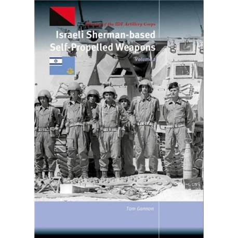 TrackPad Publishing TP006-2 Israeli Sherman-based SP Weapons Volume 2 Livre en Anglais