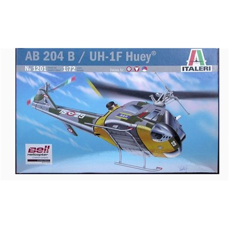 ITALERI 1201 1/72 AB 204 B / UH-1F Huey