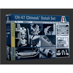 ITALERI 26002 1/48 CH-47 Chinook Super Detail Set