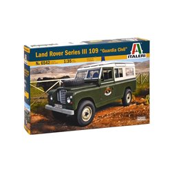 ITALERI 6542 1/35 Land Rover Series III 109 Guardia Civil
