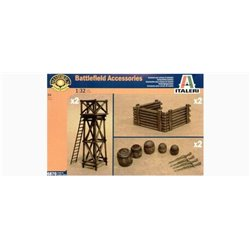 ITALERI 6870 1/32 Battlefield Accessories