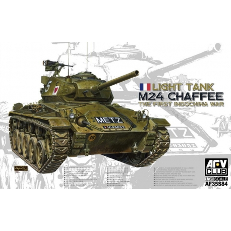 AFV Club AF35S84 1/35 Light Tank M24 Chaffee The First Indochina War